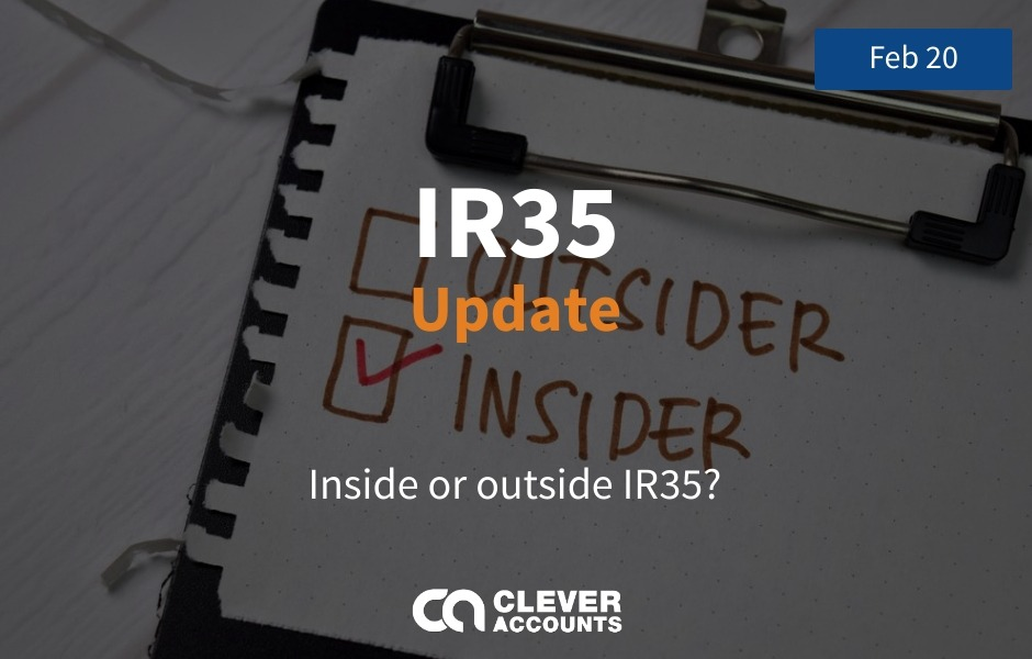 Are you inside IR35 or outside IR35