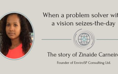 When a problem solver with a vision seizes-the-day The story of Zinaide Carneiro